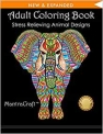 Religion and Spirituality Books $5.54 Adult Coloring Book: Stress Relieving Animal Designs