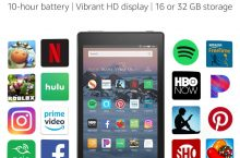Hot New Tablet Deals All-New Fire HD 8 Tablet | 8″ HD Display, 16 GB, Black – with Special Offers