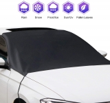 Hot Deals in Automotive Parts and Accessories $8.48 Amayrose Car Windshield Snow Cover, Magnetic Edges Car Snow Cover, Frost Guard Protector, Ice Cover, Car Windshield Sun Shade, Waterproof Windshield Protector for Car/Truck/SUV