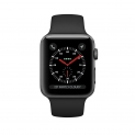 Hot New Apple Watch Deals $233.38 Apple Watch Series 3 42mm Smartwatch (GPS + Cellular, Space Gray Aluminum Case, Black Sport Band) (Refurbished)
