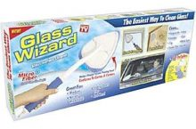 Hot New As Seen On TV Products AS SEEN ON TV GLASS WIZARD GLW-MC12 $14.99,
