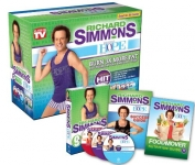 Hot New As Seen On TV Products As Seen On TV Richard Simmons Project H.O.P.E. Home Workout System DVD $13.35,