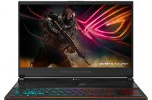 """Hot New Computer Deals $1,699.00 ASUS ROG Zephyrus S Ultra Slim Gaming PC Laptop, 15.6"""" 144Hz IPS-Type, Intel i7-8750H Processor, GeForce GTX 1070, 16GB DDR4, 512GB NVMe SSD, Military-grade Metal Chassis, Win 10 Home- GX531GS-AH76"""