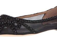 Hot New Ladies Designer Shoe Deals For Less $82.33 Badgley Mischka Women's Gigi Pointed Toe Flat