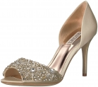 Hot New Ladies Designer Shoe Deals For Less $92.04 Badgley Mischka Women's Maria Pump