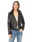 Hot New Women Leather Jacket Deals $43.18 [BLANKNYC] Women's Vegan Leather Jacket Outerwear
