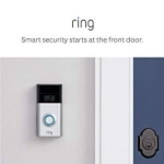 Hot New Security and Surveillance Deals $99.00 Certified Refurbished Ring Video Doorbell 2