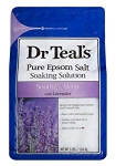 Hot New Bathing Deals $4.87 Dr Teal's Epsom Salt Soaking Solution, Soothe & Sleep, Lavender, 3lbs