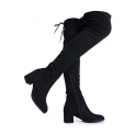 Hot New Women's Winter Boot Deals $28.99 DREAM PAIRS Women's Over The Knee Thigh High Low Block Heel Boots