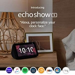 Hot New Smart Home Deals $79.99 Echo Show 5 – Compact smart display with Alexa – Charcoal