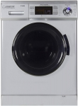 Hot New Washer and Dryer Combo Deals $1,269.00 Equator 2019 24″ Combo Washer Dryer Silver Winterize+Quiet