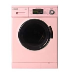Hot New Washer and Dryer Combo Deals $1,259.00 Equator 2019 24″ Combo Washer Dryer Winterize+Quiet (Pink)