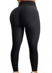 Curvy Outfits for Women FITTOO Women's High Waist Yoga Pants Tummy Control Scrunched Booty Leggings Workout Running Butt Lift Textured Tights $5.99,