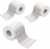 Toilet paper $7.99, Hefu Roll Paper Hollow Replacement Toilet Paper, 3-ply Toilet Paper, 170 Sheets Per Roll – Toilet Paper for Toilet of Home, Cafe, Shop, Restaurant (3 Count),