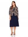 Hot Plus Size Dresses $99.00, Jessica Howard Women's Plus Size Swing Jacket & Dress,