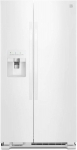 Hot New refrigerator Deals $799.99 Kenmore 50042 25 cu. ft. Side-by-Side Refrigerator with Ice Maker with Window in White, includes delivery and hookup