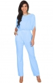 Curvy Outfits for Women KOH KOH Womens Short Sleeve Sexy Semi Formal Cocktail One Piece Jumpsuit Romper $49.95,