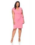 Plus Size Work Dresses for Women Hot Office DressesLark & Ro Women's Plus Size Classic Cap Sleeve Wrap Dress $39.00,