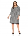 Plus Size Work Dresses for Women Hot Office DressesLark & Ro Women's Plus Size Three Quarter Sleeve Dress $49.00,