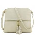 Hot New Designer Handbag Deals $14.95 Lightweight Medium Crossbody Bag with Tassel