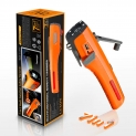 Hot Deals in Automotive Parts and Accessories $15.97 LUXON Emergency Tool 7-in-1 Car Safety Tool Includes Window Breaker Seat Belt Cutter LED Flashlight Rescue Tool Contains USB Charger SOS Light & Hand Cranking Charge for Vehicle Escape/Field Survival