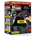 Hot New As Seen On TV Products Ontel Air Hawk Pro Automatic Cordless Tire Inflator Portable Air Compressor, Easy to Read Digital Pressure Gauge, Built In LED Light $45.99,