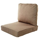 Hot New Outdoor Living Products $153.02 Quality Outdoor Living 29-TN04SB Chair Cushion, 22″ Width by 25″ Depth, Tan