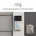 Hot New Security and Surveillance Deals $99.99 Ring Video Doorbell with HD Video, Motion Activated Alerts, Easy Installation – Satin Nickel