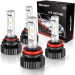 Hot Deals in Automotive Parts and Accessories $56.93 SEALIGHT 9005/HB3 High Beam H11/H9 Low Beam LED Headlight Bulbs Combo Package CSP Chips 6000K