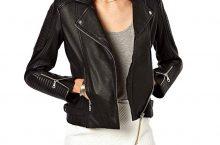Hot New Women Leather Jacket Deals $111.99 Women's Jacket Genuine Lambskin Leather Biker Fashion Coat