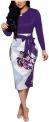 Plus Size Work Dresses for Women Hot Office DressesYCOOCE Womens Bodycon Pencil Dress Bowknot Waist Belt- Cute Floral Bodycon Midi Dress Wear to Work S-XXL $12.77,